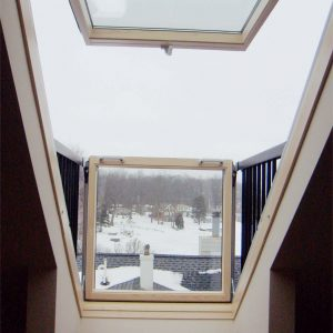 Featured Opening Skylight Window Fenton Lakes Building
